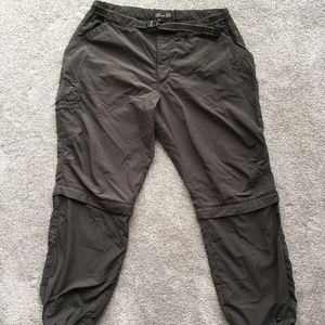 REI gray nylon hiking pants